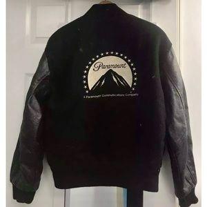 Vintage Paramount Pictures Men's  Crew Jacket